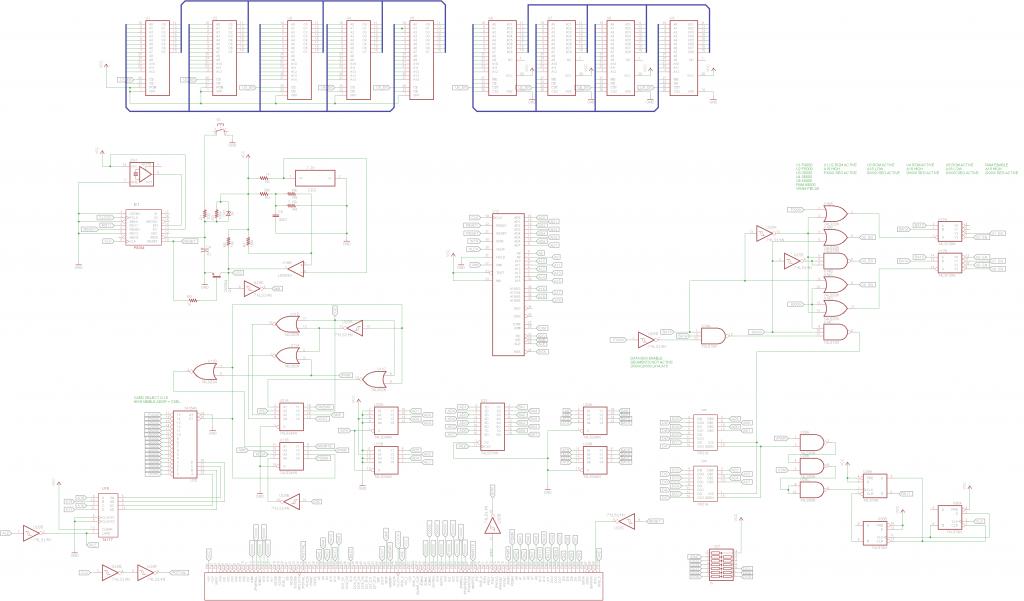 Fadal 1400-1 Schematic